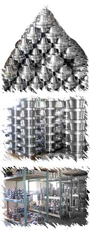Stainless Steel Flange Inventory - Multiple Wharehouse for of PVF Items